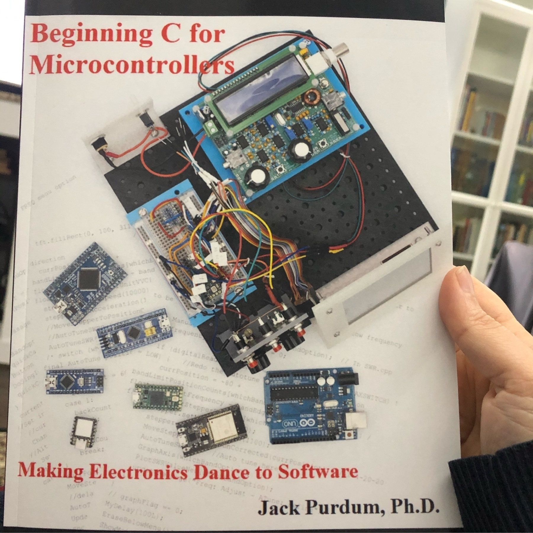 A book: C for Microcontrollers