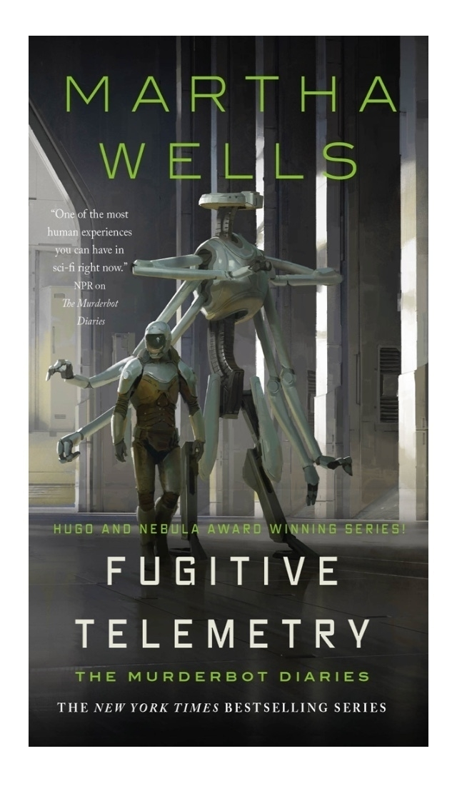 Fugitive Telemetry Book Cover